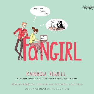 Fangirl Audiobook By Rainbow Rowell cover art