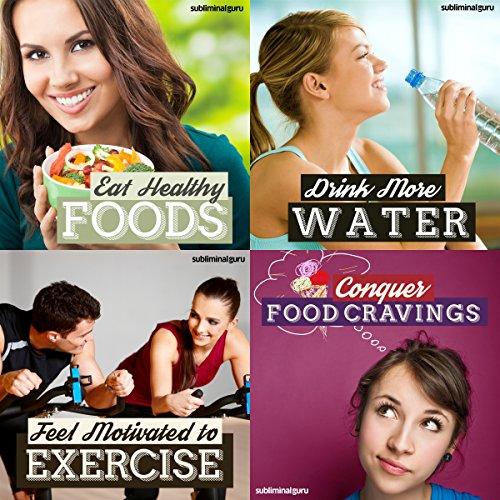 Healthy Eating Subliminal Messages Bundle Audiobook By Subliminal Guru cover art