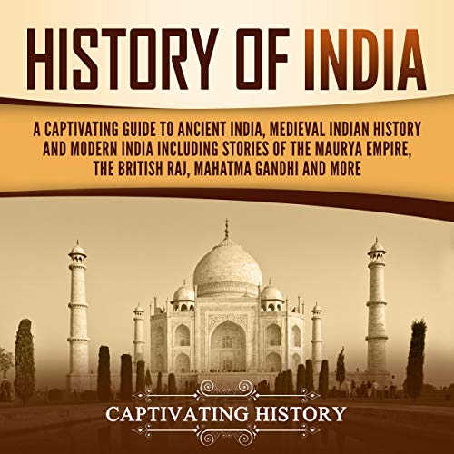 History of India Audiobook By Captivating History cover art