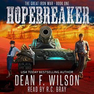 Hopebreaker (A Sci-Fi Dystopian Adventure) Audiobook By Dean F. Wilson cover art