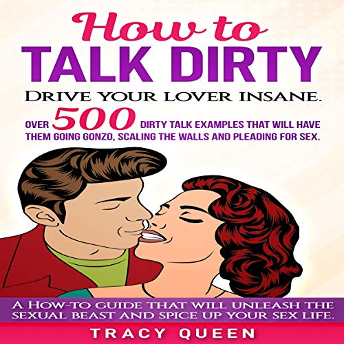 How to Talk Dirty: Over 500 Dirty Talk Examples That Will Have Them Going Gonzo, Scaling the Walls and Pleading for Sex Audiobook By Tracy Queen cover art