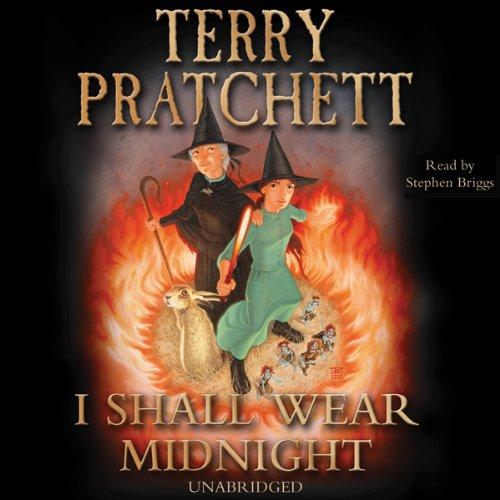 I Shall Wear Midnight Audiobook By Terry Pratchett cover art