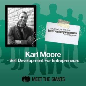 Karl Moore - Self Development for Entrepreneurs Audiobook By Karl Moore cover art