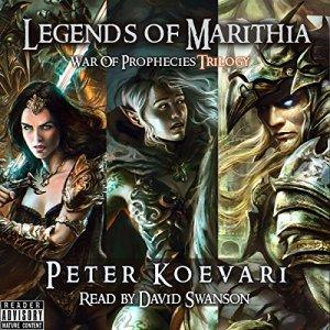 Legends of Marithia Audiobook By Peter Koevari cover art