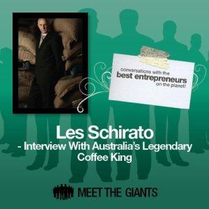 Les Schirato - Interview with Australia's Legendary Coffee King Audiobook By Les Schirato cover art