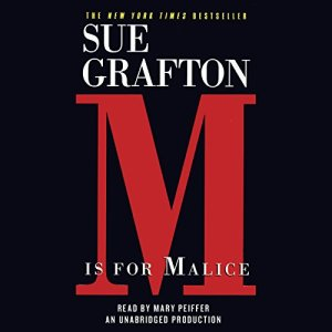 M is for Malice Audiobook By Sue Grafton cover art