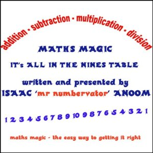 Maths Magic Audiobook By Isaac Anoom cover art