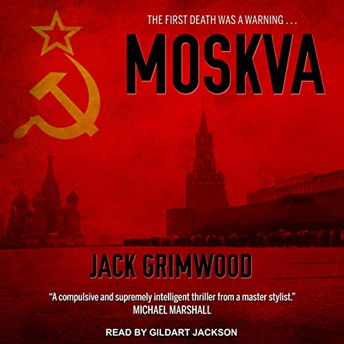 Moskva Audiobook By Jack Grimwood cover art