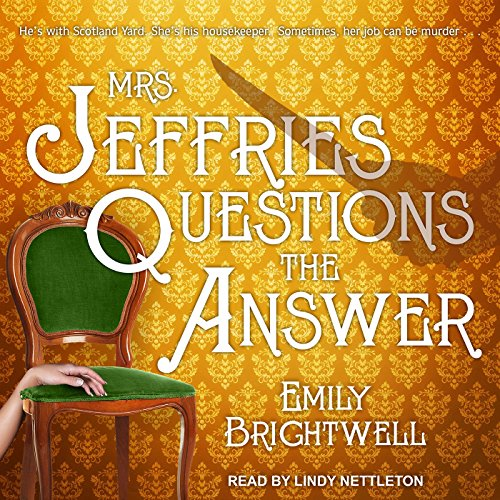 Mrs. Jeffries Questions the Answer Audiobook By Emily Brightwell cover art