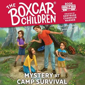 Mystery at Camp Survival Audiobook By Gertrude Chandler Warner cover art