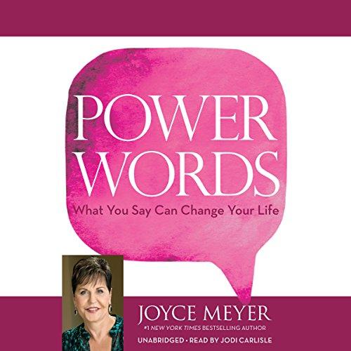 Power Words Audiobook By Joyce Meyer cover art