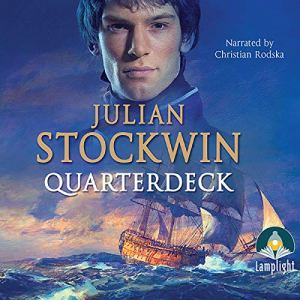 Quarterdeck Audiobook By Julian Stockwin cover art