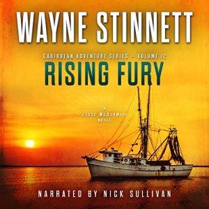Rising Fury: A Jesse McDermitt Novel Audiobook By Wayne Stinnett cover art
