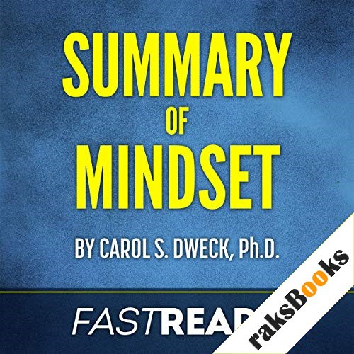 Summary of Mindset by Carol Dweck Audiobook By FastReads cover art