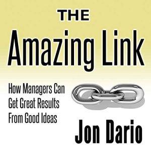 The Amazing Link Audiobook By Jon Dario cover art