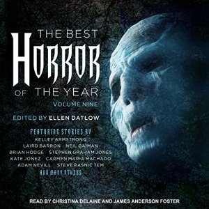 The Best Horror of the Year, Volume Nine Audiobook By Ellen Datlow - editor cover art