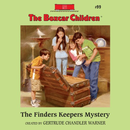 The Finders Keepers Mystery Audiobook By Gertrude Chandler Warner cover art