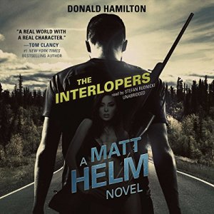 The Interlopers Audiobook By Donald Hamilton, Claire Bloom - director cover art
