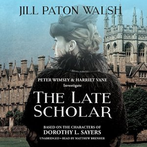 The Late Scholar Audiobook By Jill Paton Walsh cover art