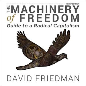 The Machinery of Freedom - Guide to a Radical Capitalism Audiobook By David D. Friedman cover art
