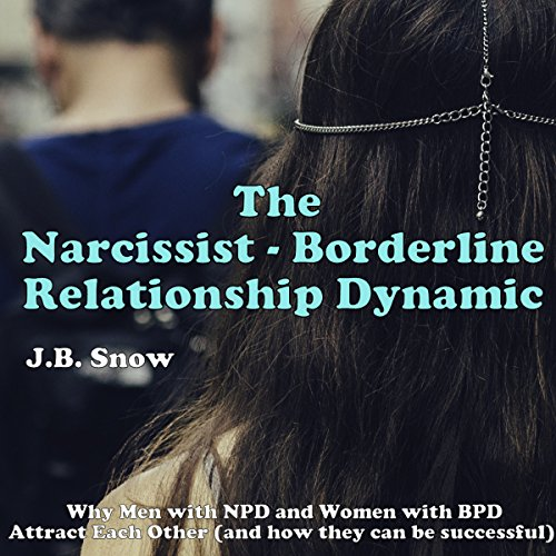 The Narcissist Borderline Relationship Dynamic: Why Men with NPD and Women with BPD Attract Each Other Audiobook By J.B. Snow cover art