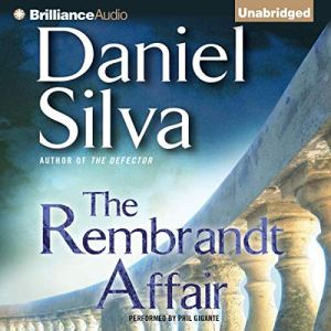 The Rembrandt Affair Audiobook By Daniel Silva cover art
