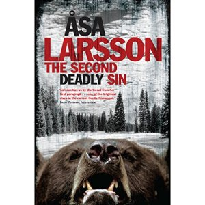 The Second Deadly Sin Audiobook By Asa Larsson cover art
