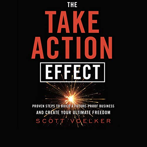 The Take Action Effect Audiobook By Scott Voelker cover art