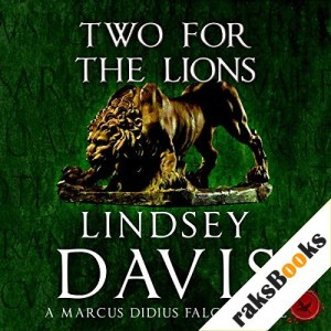 Two for the Lions Audiobook By Lindsey Davis cover art