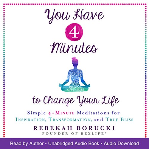 You Have 4 Minutes to Change Your Life Audiobook By Rebekah Borucki cover art