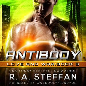 Antibody Audiobook By R. A. Steffan cover art