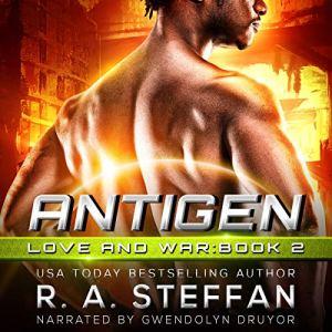 Antigen Audiobook By R. A. Steffan cover art