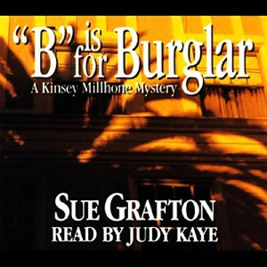 B is for Burglar Audiobook By Sue Grafton cover art