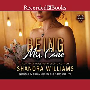 Being Mrs. Cane Audiobook By Shanora Williams cover art