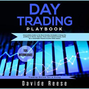 Day Trading Playbook: Intermediate Guide to the Best Intraday Strategies & Setups for Profiting on Stocks, Options, Forex and Cryptocurrencies Audiobook By David Reese cover art