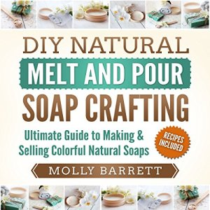 DIY Natural Melt and Pour Soap Crafting Audiobook By Molly Barrett cover art