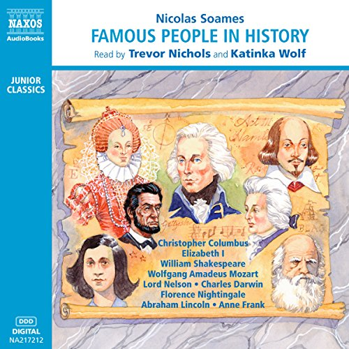 Famous People in History Audiobook By Nicolas Soames cover art