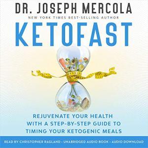 KetoFast Audiobook By Dr. Joseph Mercola cover art