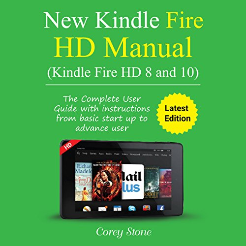 Kindle Fire HD Manual Audiobook By Corey Stone cover art