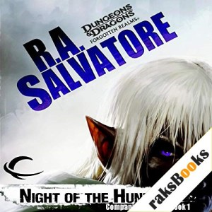 Night of the Hunter Audiobook By R. A. Salvatore cover art