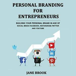 Personal Branding for Entrepreneurs Audiobook By Jane Brook cover art