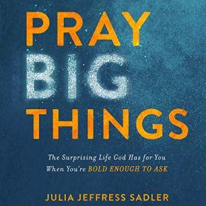Pray Big Things Audiobook By Julia Jeffress Sadler cover art