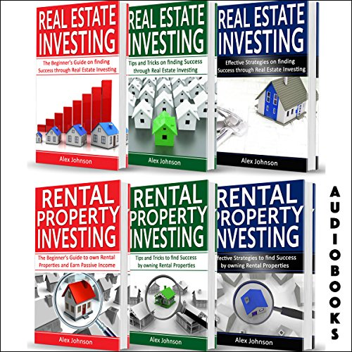 Real Estate Investor: 6 Books in 1 Audiobook By Alex Johnson cover art