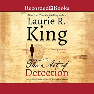 The Art of Detection Audiobook By Laurie R. King cover art