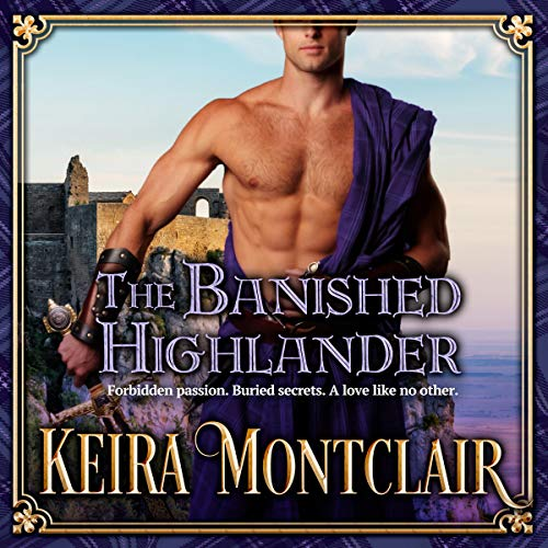 The Banished Highlander Audiobook By Keira Montclair cover art