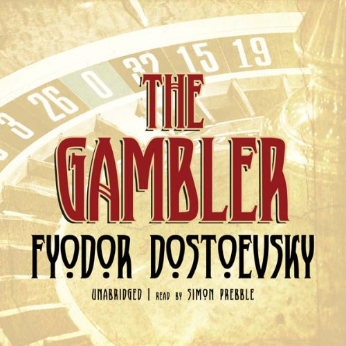 The Gambler Audiobook By Fyodor Dostoevsky cover art