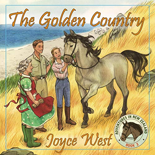 The Golden Country Audiobook By Joyce West cover art