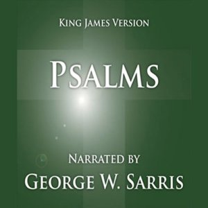 The Holy Bible - KJV: Psalms Audiobook By George W. Sarris (publisher) cover art