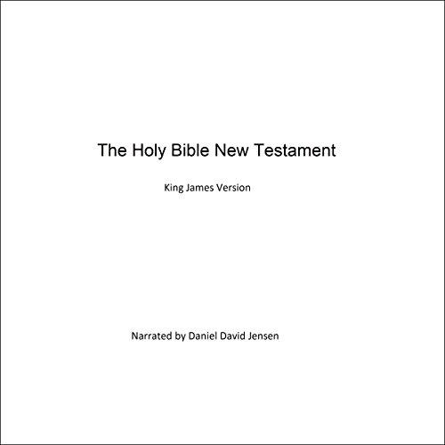 The Holy Bible New Testament Audiobook By KJV AV cover art