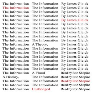 The Information Audiobook By James Gleick cover art